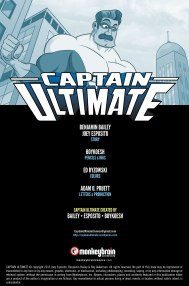 Captain Ultimate #1 Inside Cover