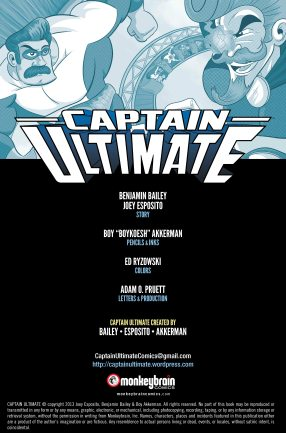 Captain Ultimate #2 Inside Cover