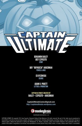 Captain Ultimate #4 Inside Cover