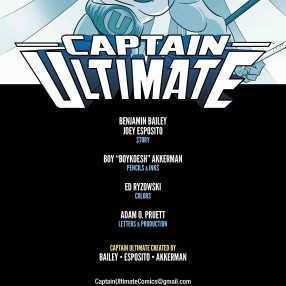 Captain Ultimate #3 Inside Cover